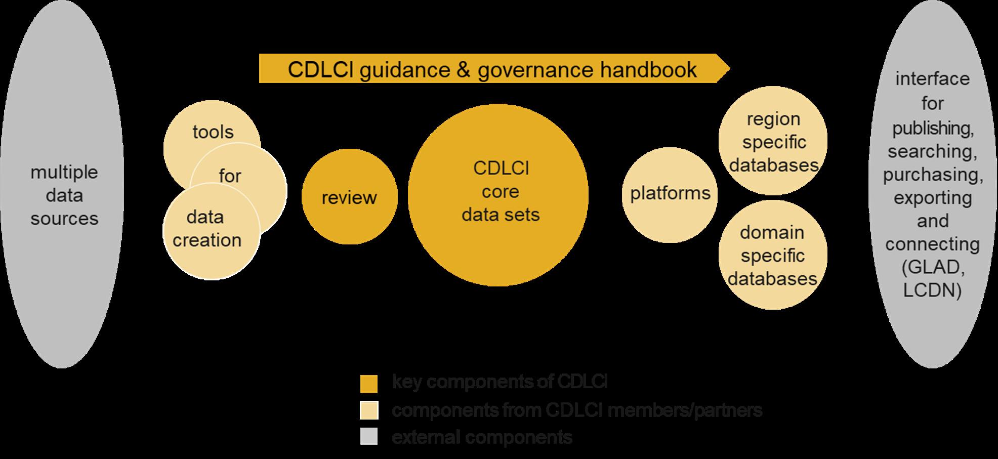 CDLCI guidance and governance handbook chart